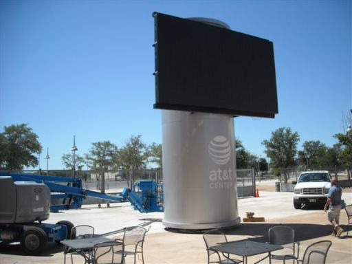 Structural Large Scale Display Systems